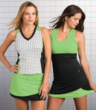 Bolle Ladies Tennis - Women's Twist of Lime Tennis Tank Top - mytennisstore.com