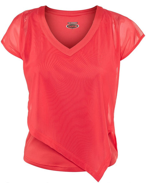 Bolle Ladies Tennis Special Effects Cap Sleeve Shirt