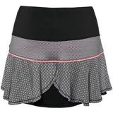 Lucky in Love ~ Off The Grid Barcode Flounce Skirt