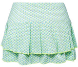 Lucky in Love ~ Diamond Pleated Tier Skirt