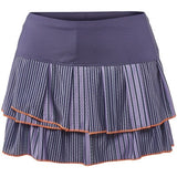Lucky in Love On The Line Striped Pleat Tier Skirt
