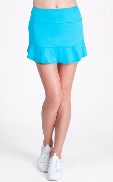 Tail Tennis -Playful Blues Fresia Skirt