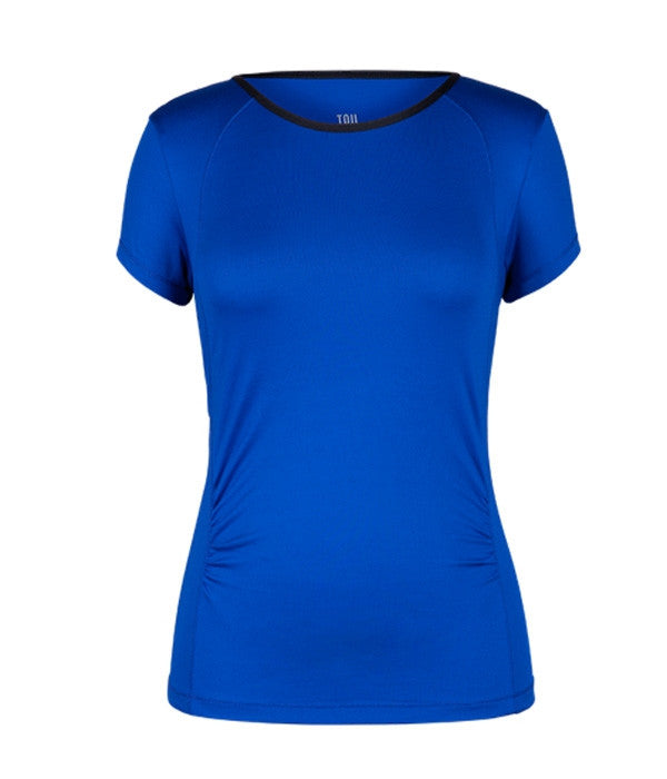 Tail Tennis - Playful Blue Hannie Short Sleeve Shirt