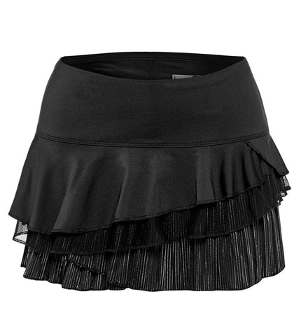 Lucky in Love ~ Hyper Wave Pinstripe Rally Skirt