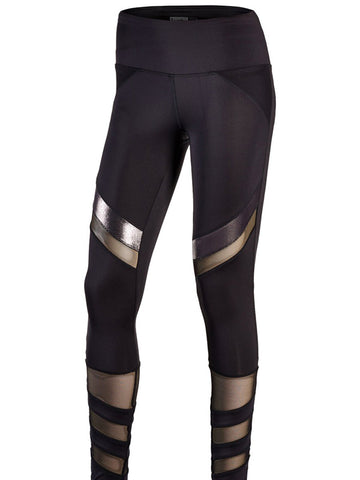 Lucky in Love ~ Hyper Wave Moto Leggings