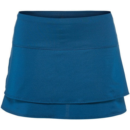 Lucky in Love Indigo Kick Back Tier Skirt