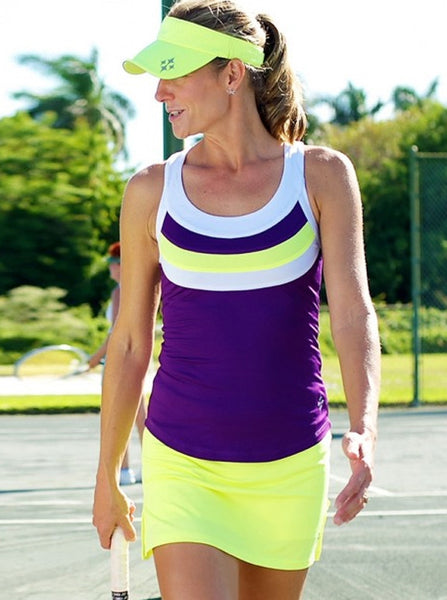 JOFIT Jacquard Ladies Tennis Skirt - mytennisstore.com