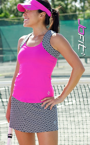 Jofit Ladies Tennis ~ Lagoon Tank