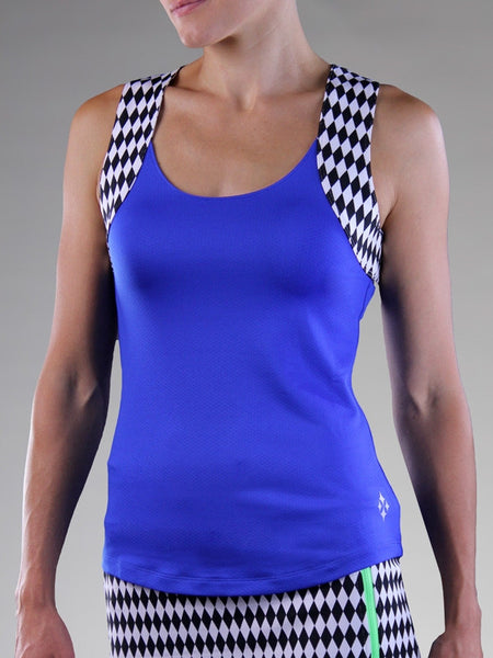 Jofit Ladies Tennis & Golf Melon Ball Lagoon Tank