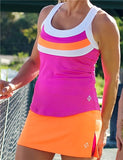 Jofit Triple Banded Racer Tank Top