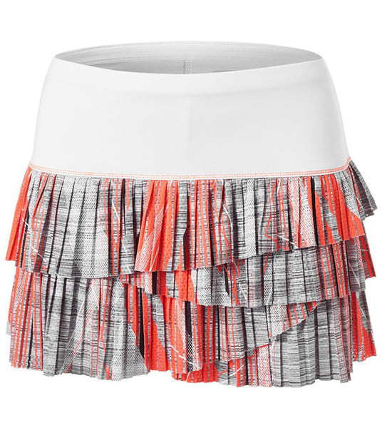 Lucky in Love ~ Spaced Out Limitless Pleated Scallop Skirt