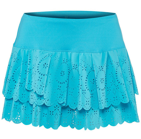 Lucky in Love ~ Laser Pleat Tier Skirt