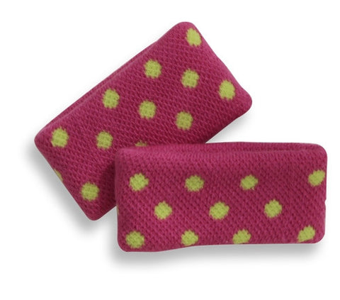 Mary Martin Designs ~ Kid's Tennis Wristband in Polka Dot Madness