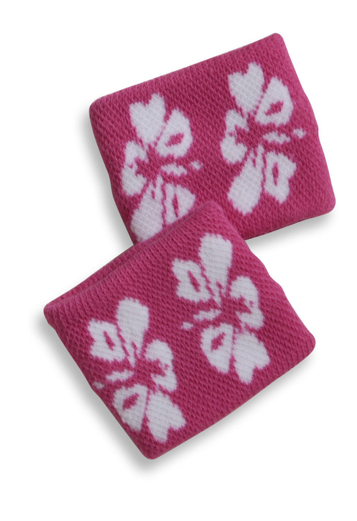 Mary Martin Designs ~ Tennis Wristband in Island Hibiscus