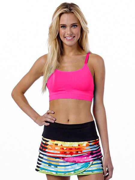 Recover ~ Classic Sports Bra (Pink)