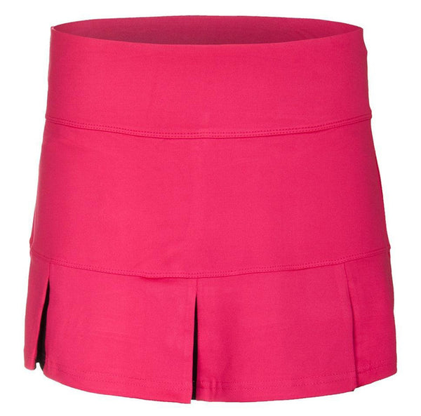 Bolle ~ Fuchsia Pleat Skirt