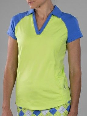 JOFIT ~ Blocked Jo Tech Jacquard Polo