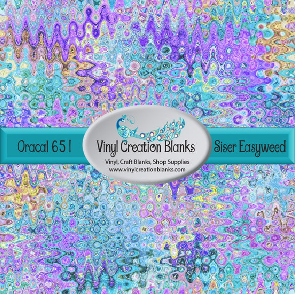 Abstract Pattern Vinyl 1002