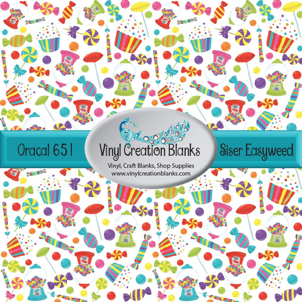 Land of Candy Pattern Vinyl