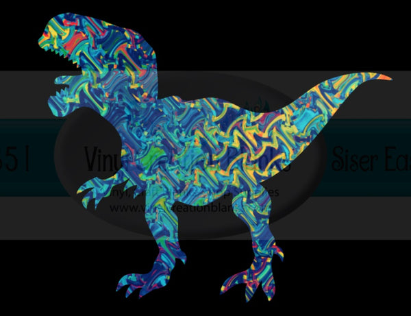 Dinosaur HTV or Sublimation Transfer