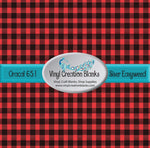 Micro Buffalo Plaid Vinyl