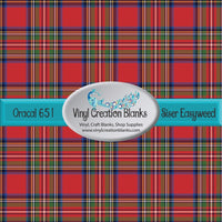 Scottish Plaid Vinyl