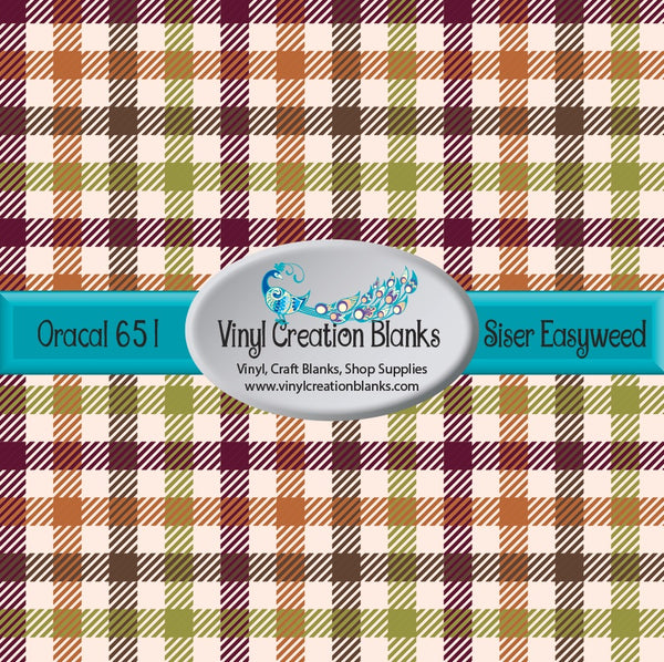 Fall Plaid 4 Vinyl