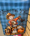 Scarecrow Fall Garden Flag