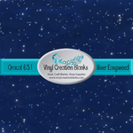 Starry Night Pattern Outdoor Vinyl or Heat Transfer Vinyl