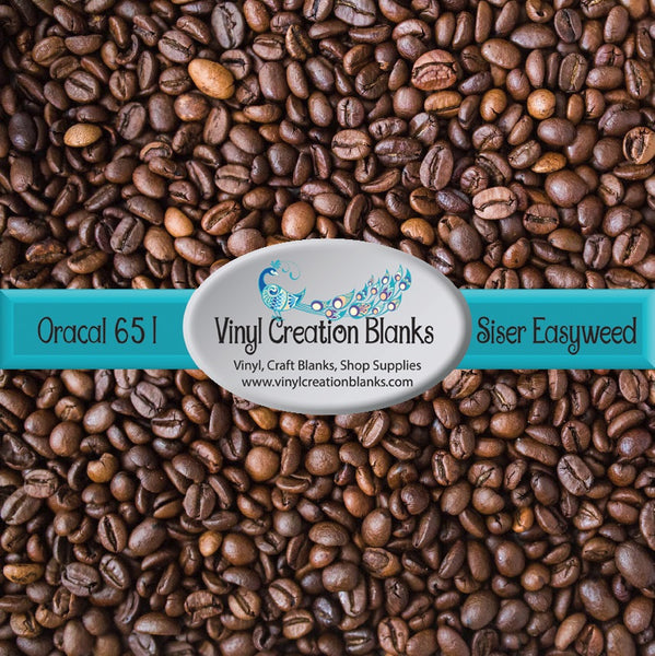 Coffee Bean Pattern Outdoor Self Adhesive Vinyl or Heat Transfer Vinyl