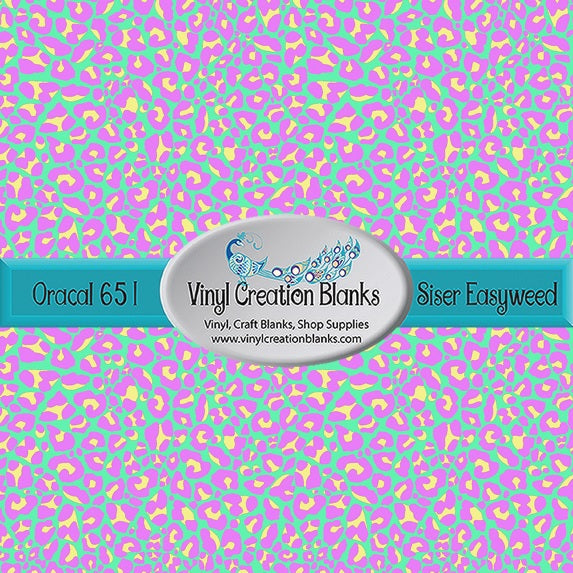 Easter Leopard Print Pattern Outdoor Vinyl or HTV