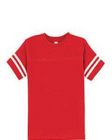 Toddler Fine Jersey Football Tee by Rabbit Skins