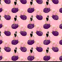 Pink and Purple Pumpkins Vinyl