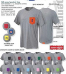 Color Pocket T-Shirts