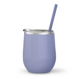 Lilac 12 oz Double Wall Steel Wine Tumbler