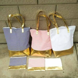 Metallic Bottom Bag Set