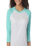 Adult Raglan by Next Level XL-3X