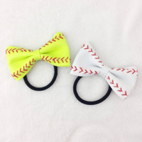 Baseball or Softball Ponytail Holder