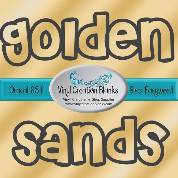 Golden Sands Ombre Vinyl