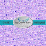Grape Fizz Pattern Vinyl