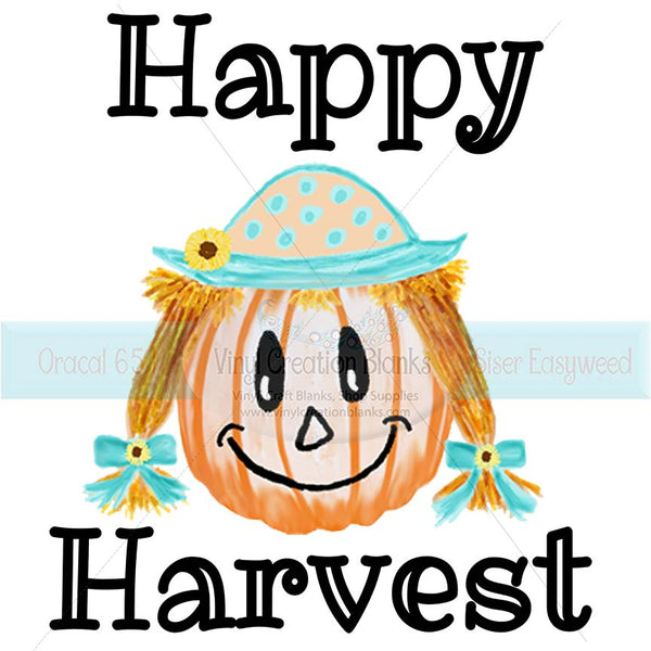 Happy Harvest Sublimation Transfer
