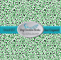 St Patrick's Day Leopard Pattern Self Adhesive Vinyl and Heat Transfer Vinyl(HTV)