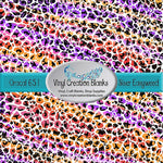 Savannah Sunset Leopard Pattern Vinyl