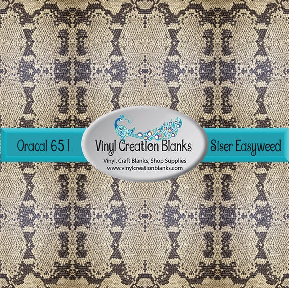 Snake Skin Pattern Outdoor Vinyl or Heat Transfer Vinyl