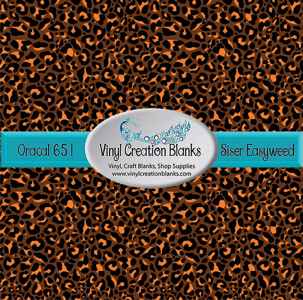 Thanksgiving Leopard Pattern Permanent Self Adhesive Vinyl or Heat Transfer Vinyl for All Vinyl Cutters