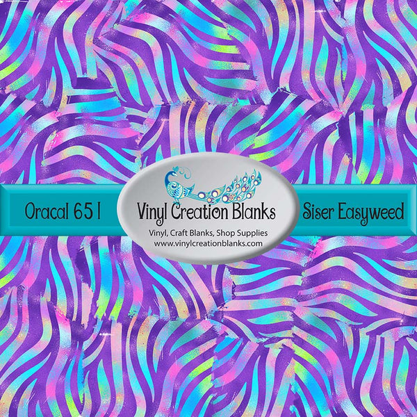Zebra Playground Pattern Permanent Outdoor Vinyl or Heat Transfer Iron On Vinyl for All Vinyl Cutters