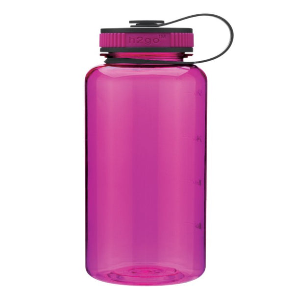 Fuchsia Wide Mouth Water Bottle