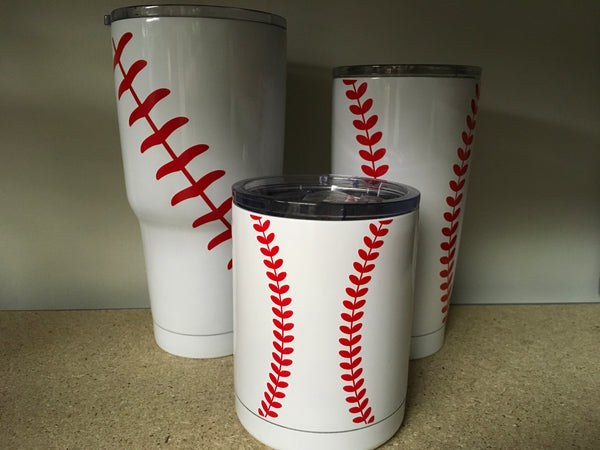Baseball Steel Cups