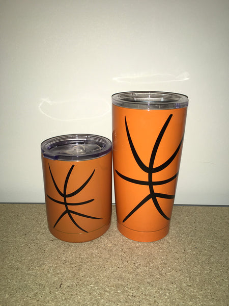 Basketball Steel Cups