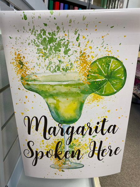 Margarita Spoken Here Flag